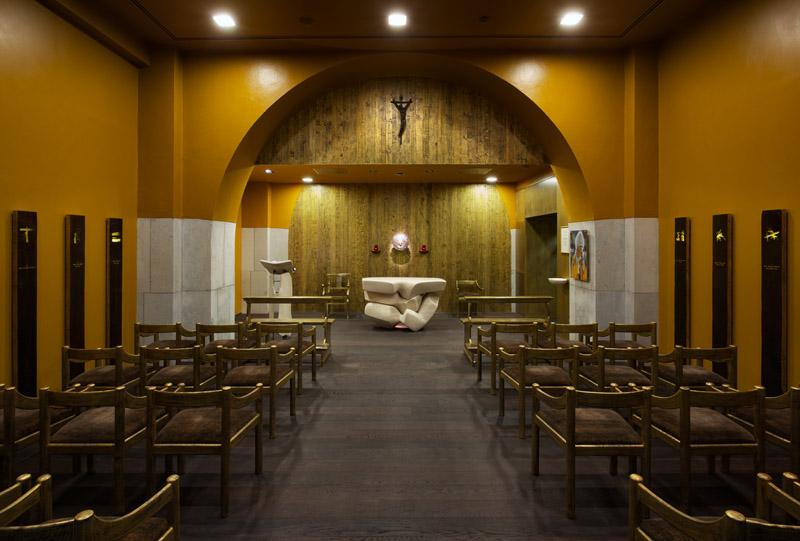 Cappella, Ospedale Niguarda / Milano 4