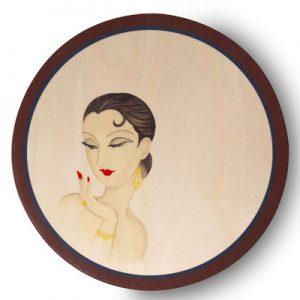 Sottopiatto - Il Mondo di Gabrielle - Lidia - Contrada Degli Artigiani