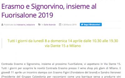 IndexWine.it, Marzo 2019