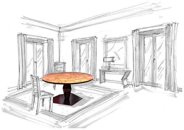 Tavolino - Davide - Contrada Degli Artigiani