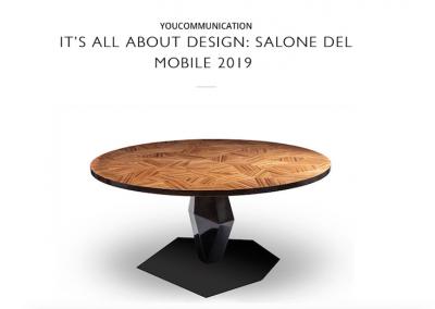 YouConcept - Marzo 2019 - Salone del mobile 2019