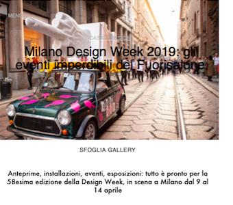 Vanity Fair, Aprile 2019 - Contrada Degli Artigiani