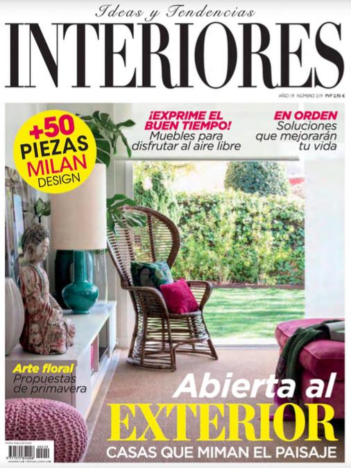 Interiores, Maggio 2019