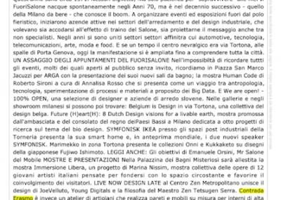 Lettera43, Aprile 2019 - Contrada Degli Artigiani