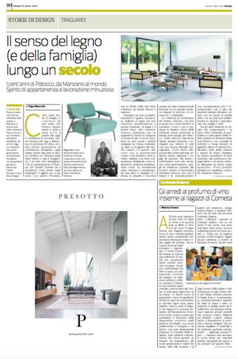 Caricato inCorriere della Sera, Aprile 2019 - Contrada Degli Artigiani