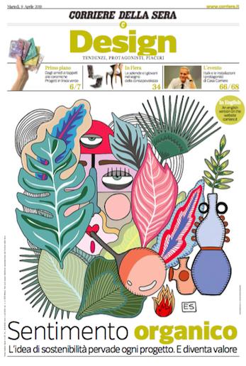 Corriere della Sera, Aprile 2019 - Contrada Degli Artigiani