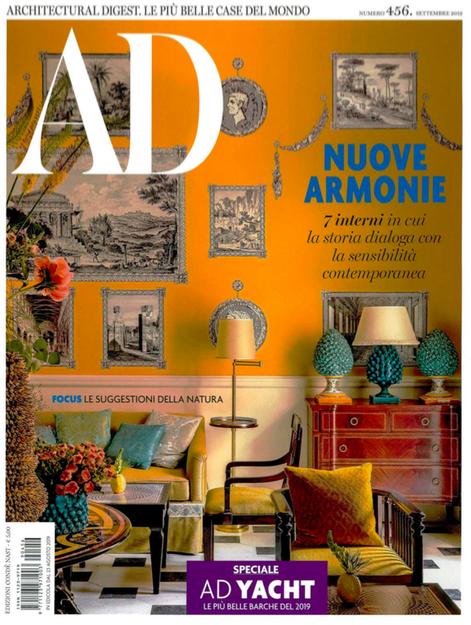 AD Italia, Settembre 2019