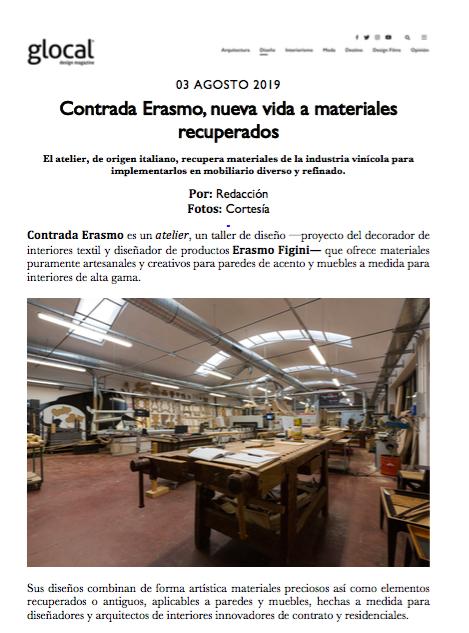 Glocal.mx, Messico, Agosto 2019 1