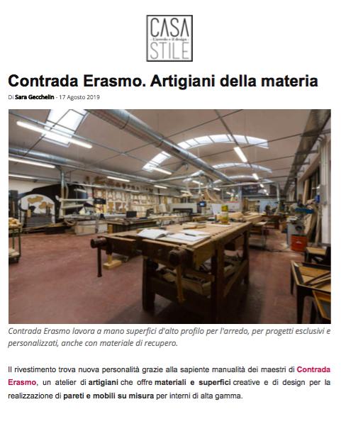 CasaStileWeb.it, Italia, Agosto 2019